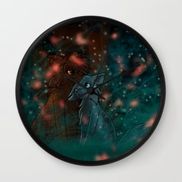 Newleaf in Starclan Wall Clock
