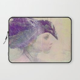 The witch crow Laptop Sleeve