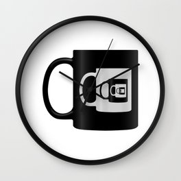 Infinite Coffee Wall Clock