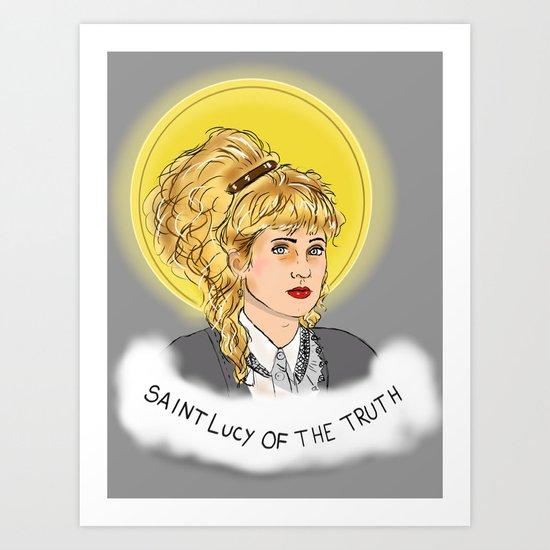 St. Lucy Art Print