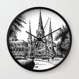 St. Louis Cathedral, New Orleans Wall Clock