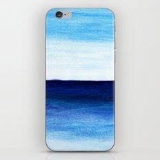 Blue & blue iPhone Skin