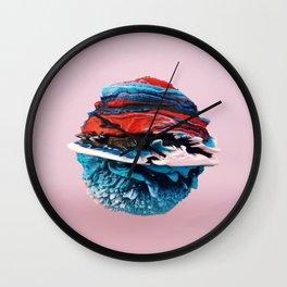 ACRYLIC BALL ABSTRACT // 3D ABSTRACT Wall Clock