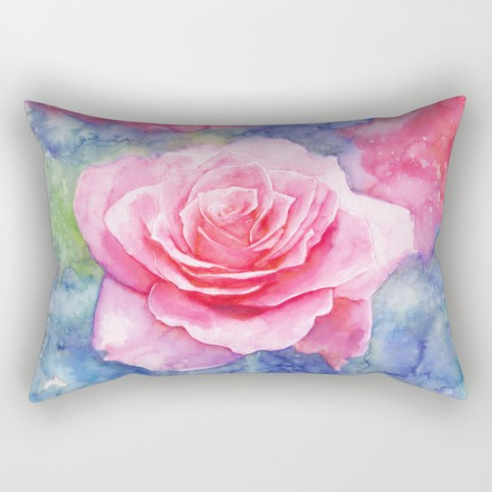 And the rain stopped Rectangular Pillow