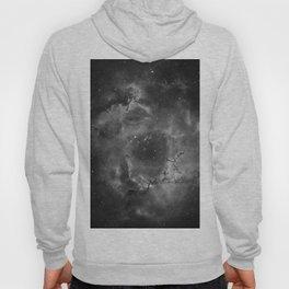Stars and Space Dust B&W Hoody
