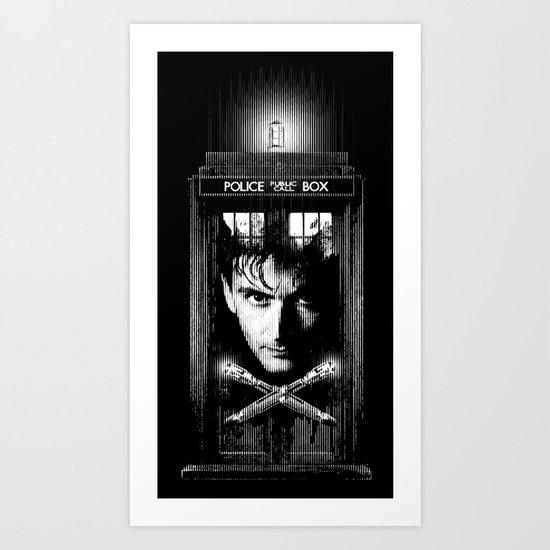 David the Tenth Doctor Art Print