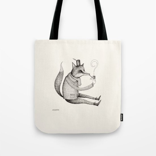 'Theories' Character Tote Bag