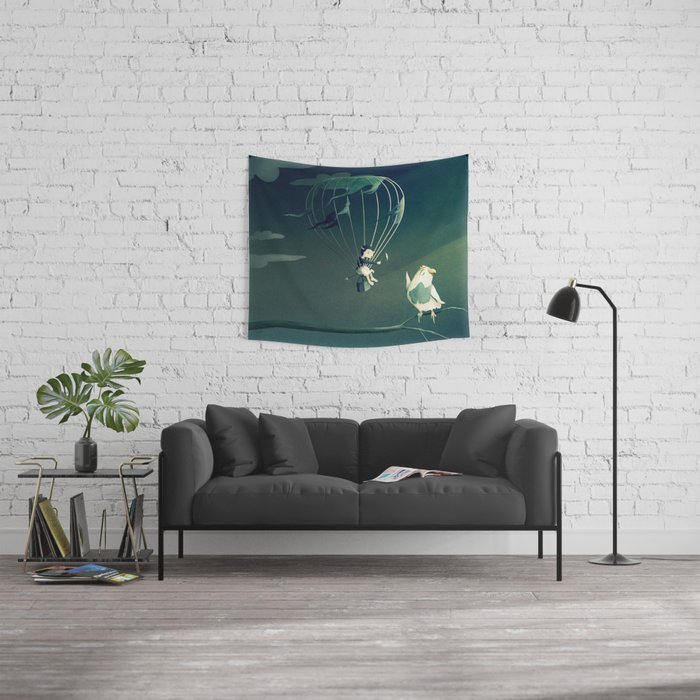 Good Old Fashioned Villain Wall Tapestry