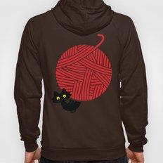 Fitz - Happiness (cat and yarn) Hoody