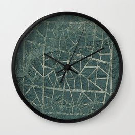 Shapes In The Desert Wall Clock