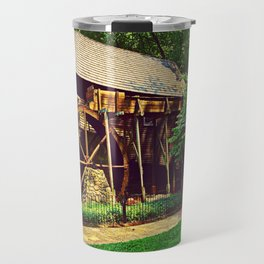 Gristmill - Charlottesville, Virginia Travel Mug