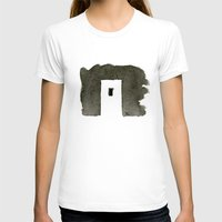 greece T-shirts featuring Greece by Paul Stickland for StrangeStore