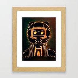 Flux catcher Framed Art Print