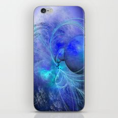 CREATING BLUE PLANETS iPhone & iPod Skin