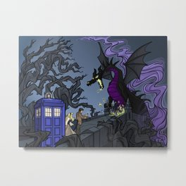 And Now You Will Deal with ME, O' Doctor Metal Print