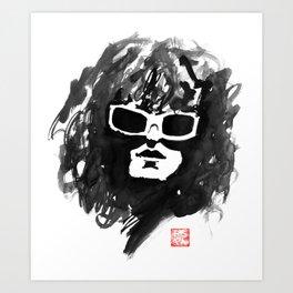 michel polnareff Art Print