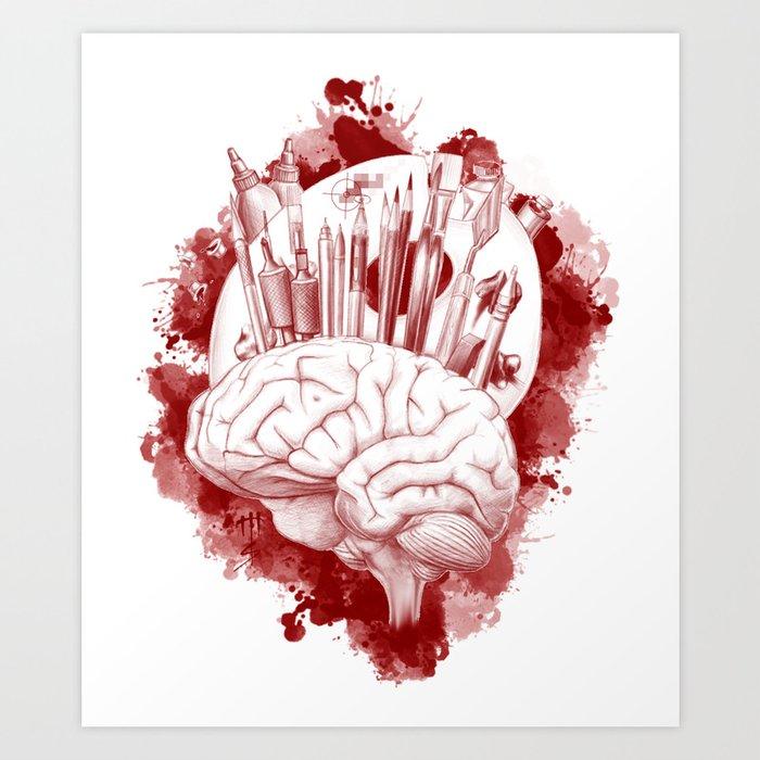CreativeMinds Art Print