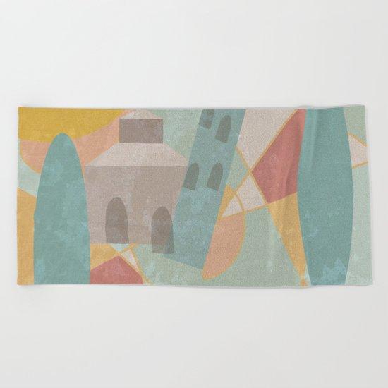 Pisa Beach Towel