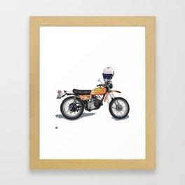 1971 Kawasaki f series 2 stroke Framed Art Print