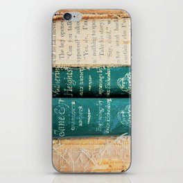 Jane Eyre / Wuthering Heights iPhone Skin