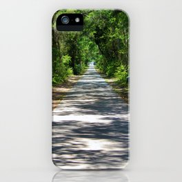 Maritime Forest In The South iPhone Case