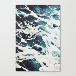 The Marbled Sea Canvas Print