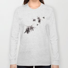 Crown of Bees Long Sleeve T-shirt