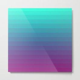 UV Gradient Metal Print