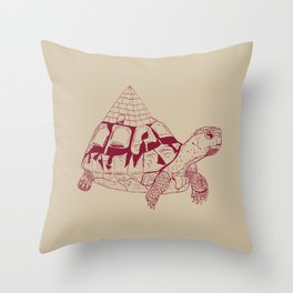 Pyratoise Throw Pillow