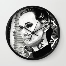 Cara Gee Wall Clock