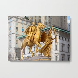 General Sherman: Grand Army Plaza NYC Metal Print