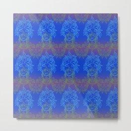 Forest elf on LSD Metal Print