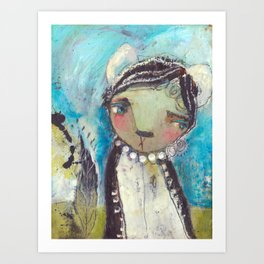 Beauty In The Unknown Art Print