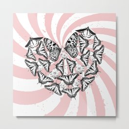 Love Conquers Hate Metal Print