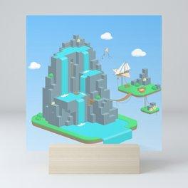 Crystal Mountain Mini Art Print