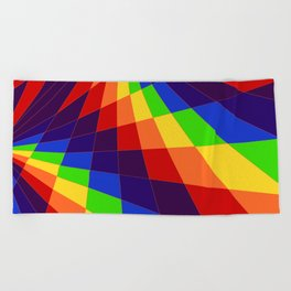 "ROY G Biv - ""Another Look"" Beach Towel"
