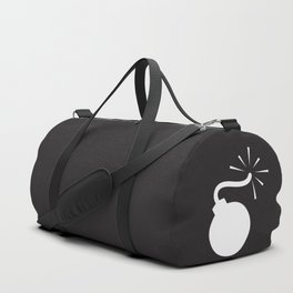 BLACK & WHITE BOMB DIGGITY Duffle Bag