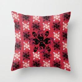 Mean Bitches - Gail Weather Scream Flower Throw Pillow