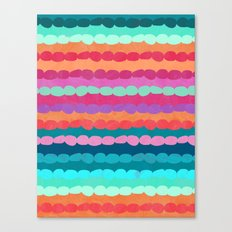 Brite Stripe Canvas Print