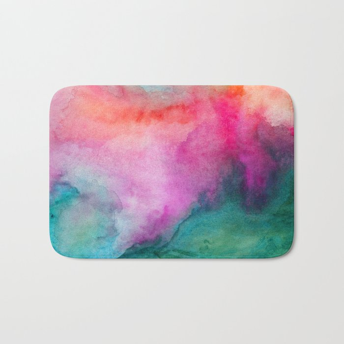 Staring at the Ceiling Bath Mat