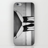 heels iPhone & iPod Skins featuring Spike Heels by davehare