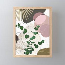 Eucalyptus Fan Palm Finesse #3 #tropical #decor #art #society6 Framed Mini Art Print