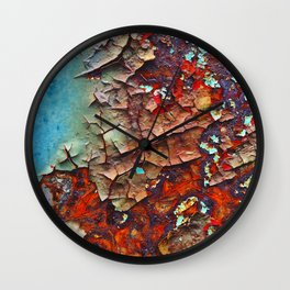 Urban Textures Wall Clock