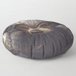 Armored Bear Companion Floor Pillow