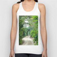 cape cod Tank Tops featuring Lover's Arch, Cape Cod by JezRebelle