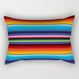 The Mexican Stripes Rectangular Pillow