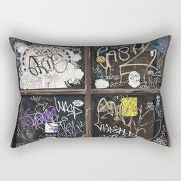 Fishtown Graffiti Street Rectangular Pillow