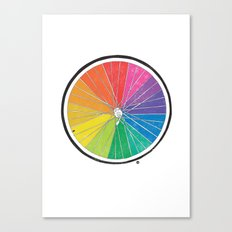 Color Wheel (Society6 Edition) Canvas Print
