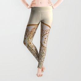 Ornate Art Deco Leggings