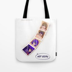 Speed Girl Tote Bag